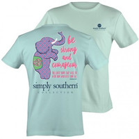 "Simply Southern ""Preppy Strong"" T-shirt"