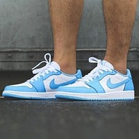 Bunchsun Nike SB x Air Jordan 1 Low Fashion New Hook Women Men Sports Leisure Running Shoes