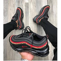 shosouvenir Nike Air Max 97 Leopard Stripes Red Sneakers