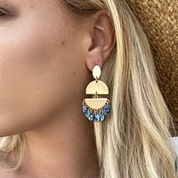 Never Enough Turquoise Earrings
