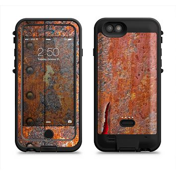 The Rusty Metal with Jagged Edge  iPhone 6/6s Plus LifeProof Fre POWER Case Skin Kit