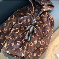 Louis Vuitton LV Women's Zipper Cardigan Sweater Jacket Coat