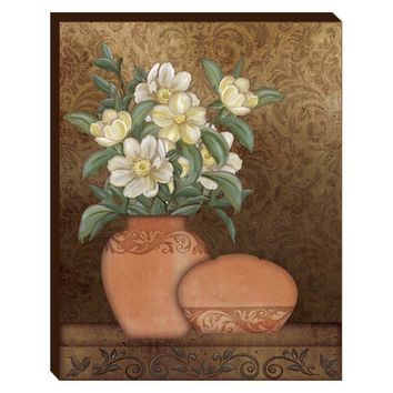Peonies Canvas Wall Art (2073) - Illuminada