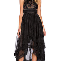 ASILIO Welcome To The Dollhouse Dress in Black