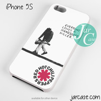 Red Hot Chili Peppers Quote Phone case for iPhone 4/4s/5/5c/5s/6/6 plus