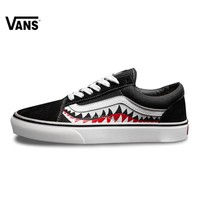 Vans X Bape Sharktooth Custom Bape SHARK MOUTHS Women Sneakers Canvas Sports for Women 4VN000D3HY95 35-39