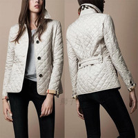 Hot Popular Slim Button Jacket Coat a13031