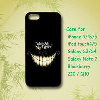 We are all Mad, iPhone 5 Case, iPhone 4 Case, ipod case, Samsung Galaxy S4, Samsung Galaxy S3, Samsung note 2, blackberry z10, Q10