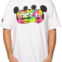 Distorted Mickey Collection By Neff Stretch T-Shirt