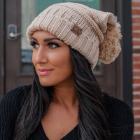 Cold Spell Beanie - Sand