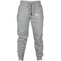 2018 New Men Joggers Brand Male Trousers Casual Pants Sweatpants Jogger grey Casual Elastic cotton GYMS Fitness Workout pan