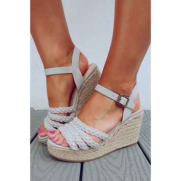 Get It Done Wedges: Grey