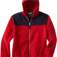 Nautica Sportswear Kids Little Boys' Polar Fleece Hoodie