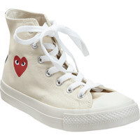 PLAY by Comme des Garçons Chuck Taylor High Top at Barneys New York at Barneys.com