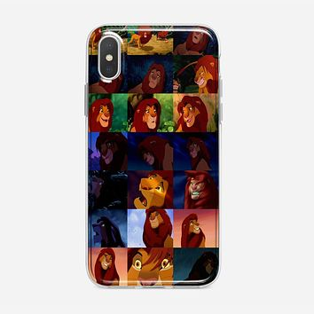 Simba The Lion King iPhone XS Case