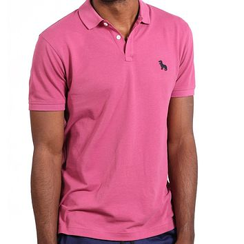 Fuchsia Cotton Pique Polo - Sizes L, XL & XXL Available
