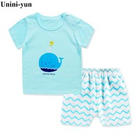 Infant Baby Boy Clothes Set T-shirt + Pants