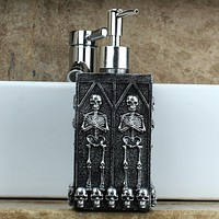 1pc Skull Liquid Soap Dispenser Pump 450ml