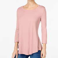 JM Collection Scoop-Neck Top, Only at Macy's - Tops - Women - Macy's