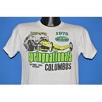 70s Springnationals 1975 National Trail NHRA t-shirt Medium