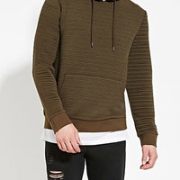 Quilted Hoodie