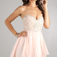 Strapless Party Dress by Dave and Johnny 10069