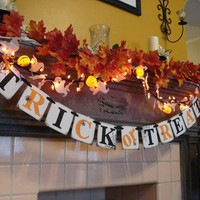 Trick or Treat Halloween Banner for Your by anyoccasionbanners