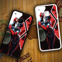 HARLEY QUINN WITH MALLET V0122 HTC One S X M7 M8 M9, Samsung Galaxy Note 2 3 4 S3 S4 S5 (Mini) S6 S6 Edge