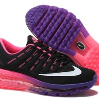 """Nike Air Max"" Women Sport Casual Multicolor Air Cushion Sneakers Running Shoes"