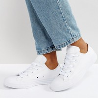 Converse Chuck Taylor All Star Ox Leather Sneakers at asos.com