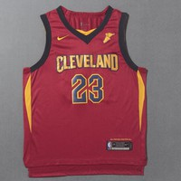 Cleveland Cavaliers #23 LeBron James Nike Icon Edition NBA Jerseys