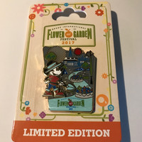 Disney Parks Epcot Flower & Garden 2017 Mickey Limited Pin New with Card