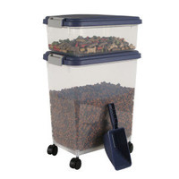 Iris Airtight Pet Food Storage Container - Blue