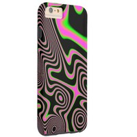 Cotton candy Trippy Abstract Tough iPhone 6 Plus Case
