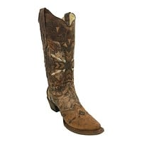 Corral A3045 Brown & Cognac Embroidery Boots