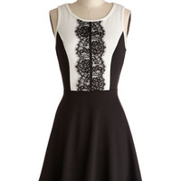 ModCloth Mid-length Tank top (2 thick straps) A-line Company Cocktails Dress