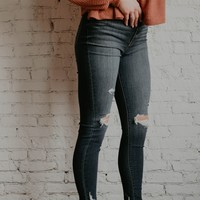 EUNINA Charlize Distressed Skinny Jeans - size 13 only
