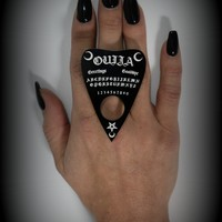 Ouija Board Planchette Nugoth Ring