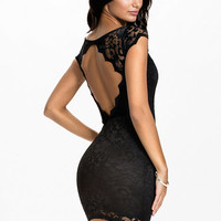 Cut Out Back Dress - Oneness - Black - Party Dresses - Clothing - Women - Nelly.com