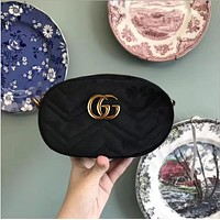 New G small objects velvet bag shoulder bag Messenger bag ladies bag