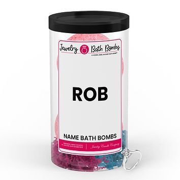 ROB Name Jewelry Bath Bomb Tube