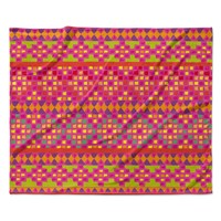 "Nika Martinez ""Mexicalli"" Fleece Throw Blanket"