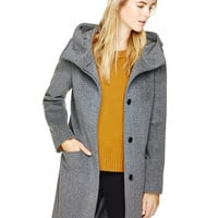 PEARCE WOOL COAT