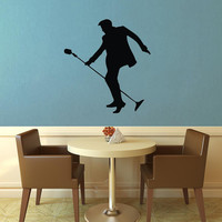 Elvis Silhouette Wall Decal - Wall Decal