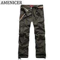 Men Sweat Fashion Pants Military Style Joggers Army Tactical Cargo Pant Leggings Harem Trousers Camouflage Joggers Sweatpants