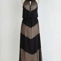 Long Sleeveless Maxi Rare and Remarkable Dress in Diamonds