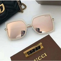 DCCKW2M GUCCI Women sThe new women s polarized sunglasses with a large frame and thin face sunglasses with sunglasses, 8027 sunglasses, uv light.