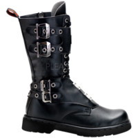 Mens Buckled Gothic Boots - FW2160 by Medieval Collectibles