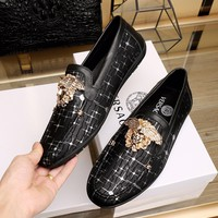 shosouvenir VERSACE Fashion trend Peas shoes