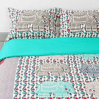 Magical Thinking Elephant-Stamp Sham Set